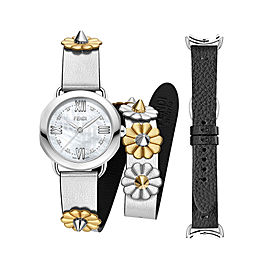 Fendi Timepieces Selleria Set 733064014170 36mm Womens Watch