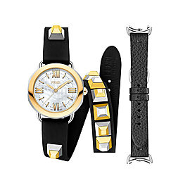 Fendi Timepieces Selleria Set 733064014132 36mm Womens Watch