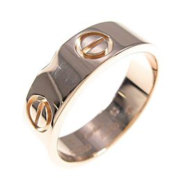 Cartier 18K Pink Gold Love ring TkM-101