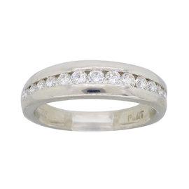 Scott Kay Platinum 0.50ct. Diamond Band Ring Size 5.5