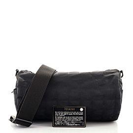 Chanel Travel Line Barrel Bag Nylon Small