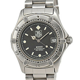 TAG HEUER 2000 962.013 Professional 200 m Gray Dial Quartz Boy's Watch