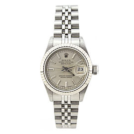 Rolex Datejust 69174 Stainless Steel and White Gold 26mm Automatic Women Watch