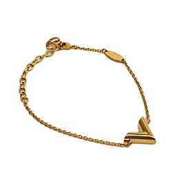 Louis Vuitton Brass Essential V Bracelet