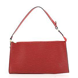 Louis Vuitton Pochette Accessoires NM Electric Epi Leather