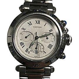 Cartier De Pasha 1050 Stainless Steel 38mm Watch