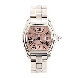 Cartier Roadster Quartz Watch Stainless Steel 30