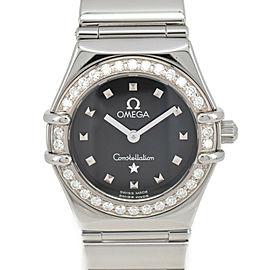 OMEGA Constellation My Choice 1465.51 Diamond Bezel Quartz Ladies Watch
