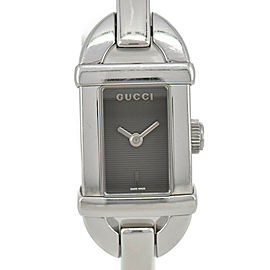 GUCCI 6800L Black Dial SS Quartz Ladies Watch