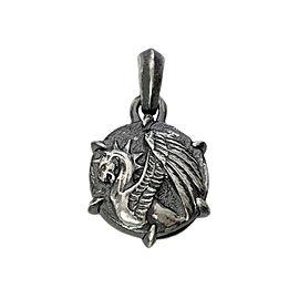 David Yurman Sterling Silver Petrus Griffin Amulet Pendant
