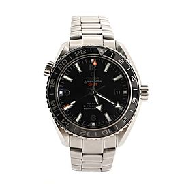 Omega Seamaster Planet Ocean 600M Co-Axial Chronometer GMT Automatic Watch Stainless Steel 43