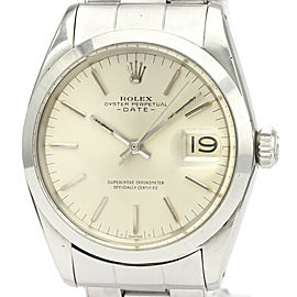 ROLEX 1500 Oyster Perpetual Stainless steel Date Automatic Watch