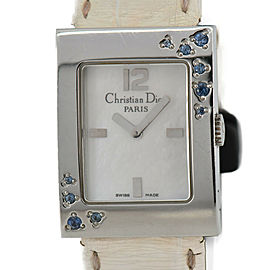 Christian Dior Maris D78-1094 White Shell Dial Quartz Women's Watch