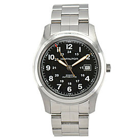 HAMILTON KHAKI FIELD H705450 Black Dial Automatic Men's Watch