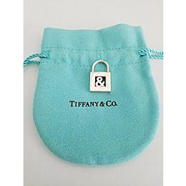 Tiffany & Co. Sterling Silver & Symbol Padlock Pendant