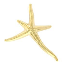 Tiffany & Co. Elsa Peretti 18K Yellow Gold Starfish Pin Brooch