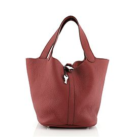 Hermes Picotin Lock Bag Clemence MM
