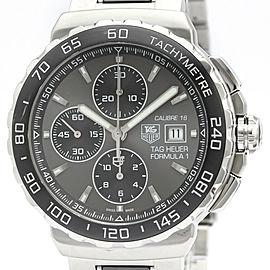 Polished TAG HEUER Formula 1 Chronograph Steel Automatic Watch CAU2010