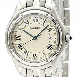 CARTIER Stainless steel Panthere Cougar Watch