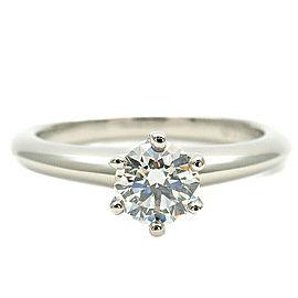 Tiffany & Co. 0.36ct Platinum Diamond Solitaire Ring