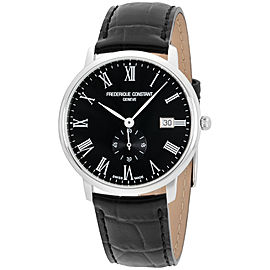 Frederique Constant Slimline FC-245BR5S6 39mm Mens Watch