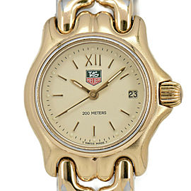 TAG HEUER S/el 200M S04.708M Ivory Dial Quartz Ladies Watch