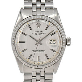 ROLEX DATEJUST 1603 Silver Dial Cal.1570 Automatic Men's Watch