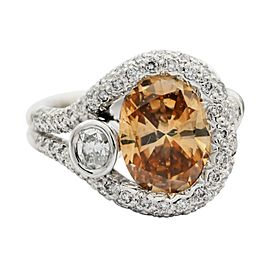 Platinum Diamond Ring Size 7.5