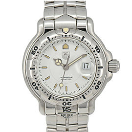 TAG HEUER 6000 WH1311 White Dial Quartz Ladies Watch