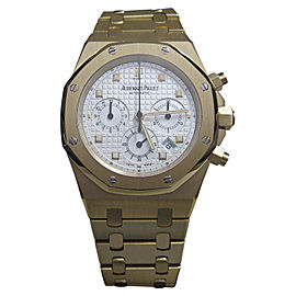 Audemars Piguet Royal Oak 25960BA.OO.1185BA.01 18K Yellow Gold Chronograph 39mm Watch