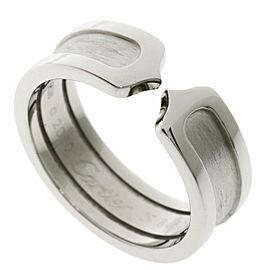 CARTIER 18k White Gold C2 Ring