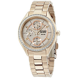 Citizen POV Eco-Drive FD106357X 34mm Womens Watch