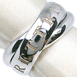 CARTIER 18k white gold TRINITY ORAMOURET Ring