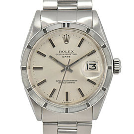 ROLEX Oyster perpetual 1501 Silver Dial Cal.1570 Automatic Men's Watch