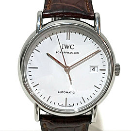 IWC IW353312 Portofino Stainless Steel/Leather belt Wrist watch