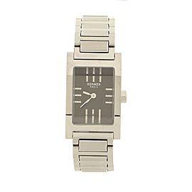 Hermes Tandem Quartz Watch Stainless Steel 19