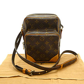 LOUIS VUITTON Monogram canvas Amazon Cross Body Shoulder Bag M45236