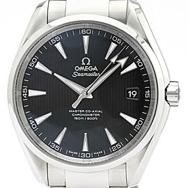 Polished OMEGA Seamaster Aqua Terra Steel Watch 231.10.42.21.01.003