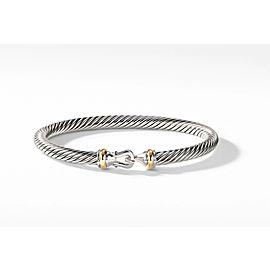 David Yurman Classic Buckle Bracelet with 18K Gold 5mm Medium size