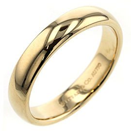 TIFFANY & Co. 18k Yellow Gold Classic band Ring