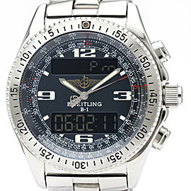 BREITLING Professional B-1 Steel Quartz Mens Watch A68362