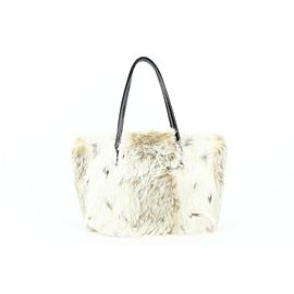 Fendi 8BH056 Fur Roll Shopper Mini Tote Bag 767ff331