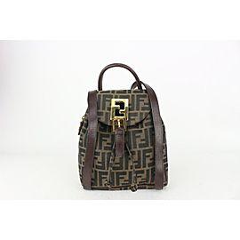 Fendi Brown Monogram FF Zucca Backpack 824ff34
