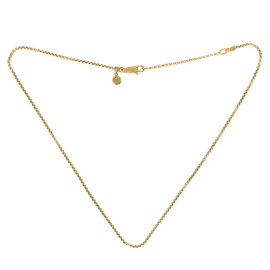 John Hardy 18K Yellow Gold Box Chain Dragon Necklace