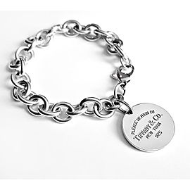 Tiffany & Co. Return to Tiffany Sterling Silver Heart Tag Bracelet