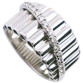 Damiani 18k white gold/diamond Ring