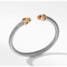 David Yurman Renaissance Bracelet with Citrine & 14K Gold,5mm