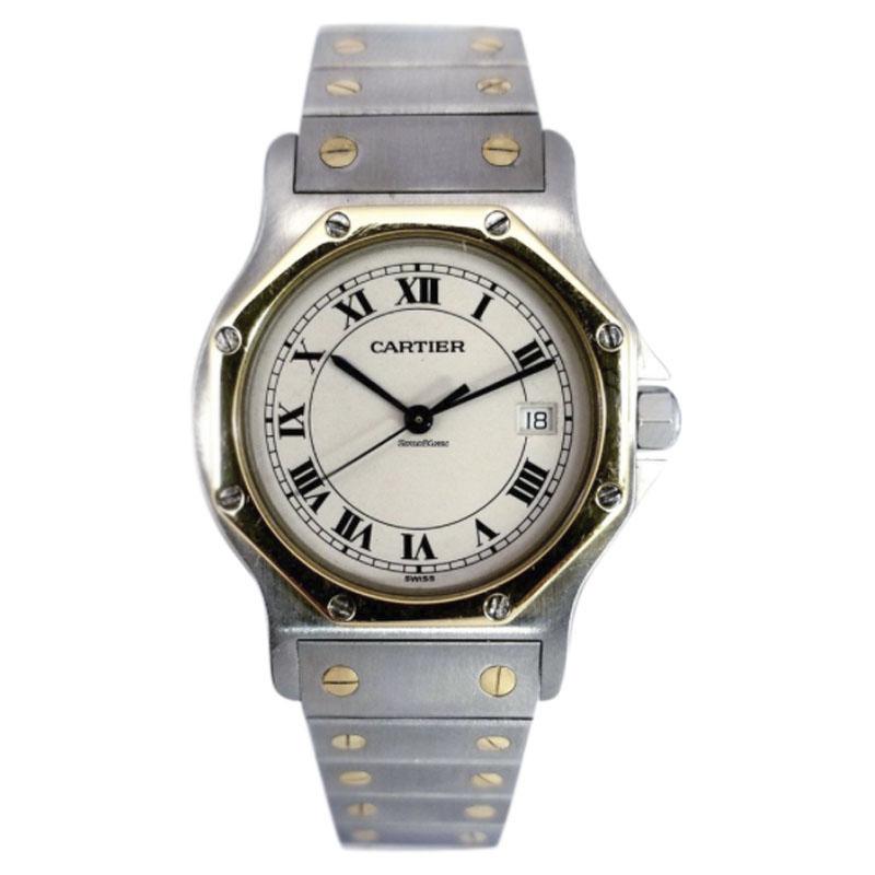 0e1f013689e Cartier Santos Ronde 187902 31mm Mens Watch
