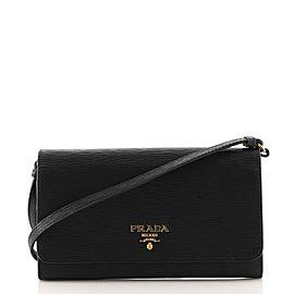 Prada Wallet on Strap Vitello Move Small