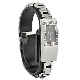FENDI 3300L Diamond Bezel Stainless Steel Quartz Women's Watch